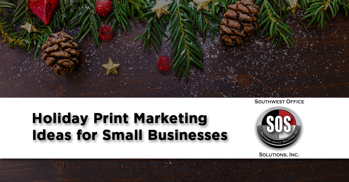 Unique Holiday Print Marketing Ideas for Small Businesses